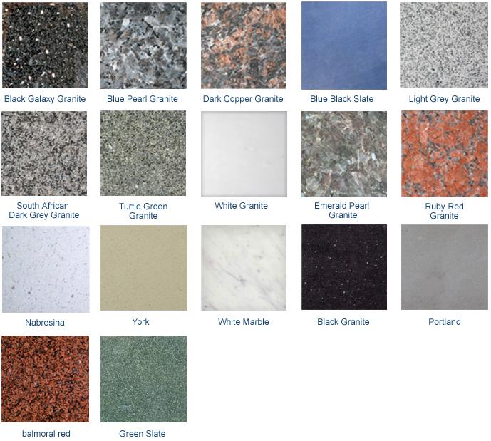 Headstone Materials
